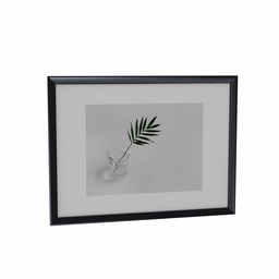 Thumbnail: Wall Picture Leaf in Glass