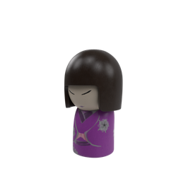Thumbnail: SM_Kokeshi Japanese Doll 02