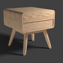 Thumbnail: Bedside table cabinet