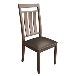 Thumbnail: Wooden kitchen chair