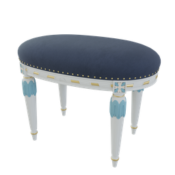 Thumbnail: Ornate stool
