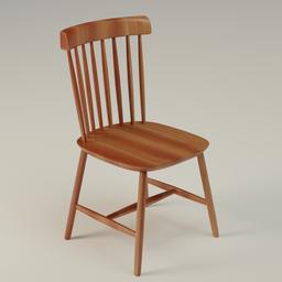 Thumbnail: Wooden Chair