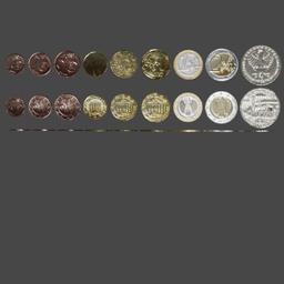 Thumbnail: Euro coins