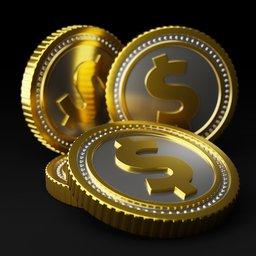 Thumbnail: Dollar coin