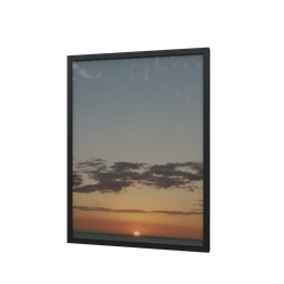 Thumbnail: Frame sunset January