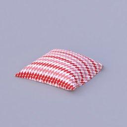 Thumbnail: red pattern pilow