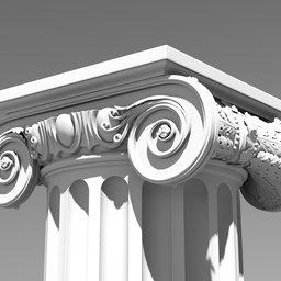Thumbnail: Ionic order - Column
