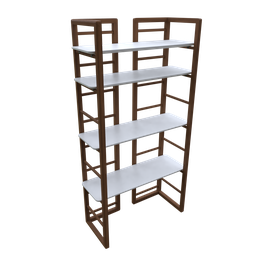 Thumbnail: Decorative bookcase