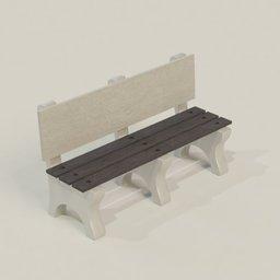 Thumbnail: Concrete Bench
