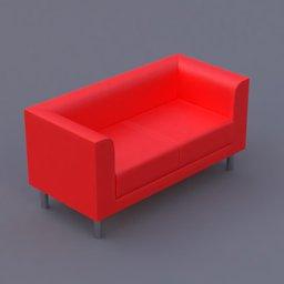 Thumbnail: favara II sofa red