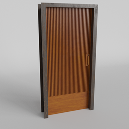 Thumbnail: Wood strip Door