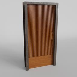 Thumbnail: Wood strip Door
