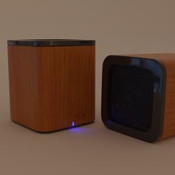 Thumbnail: Bluetooth Speaker-Wood