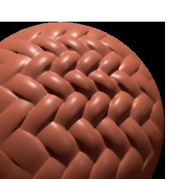 Thumbnail: weave round fibres