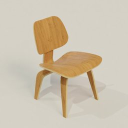 Thumbnail: Eames Lounge Chair Wood (LCW)