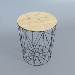 Thumbnail: Wireframe Coffee Table