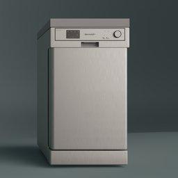 Thumbnail: Dishwasher Sharp qwhx12f472SEU