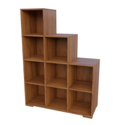 Thumbnail: Wooden Book Shelve