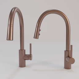 Thumbnail: Pfister Stellen Kitchen Faucet - Copper