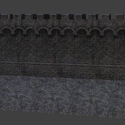 Thumbnail: Castle wall