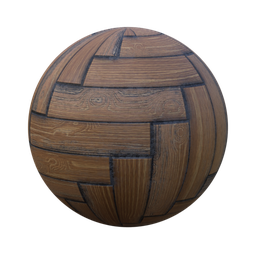 Thumbnail: herringbone parquet oak old n dirty