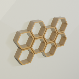 Thumbnail: Hexagon Shelf