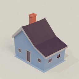 Thumbnail: Low poly house