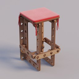 Thumbnail: ROSTE bar stool