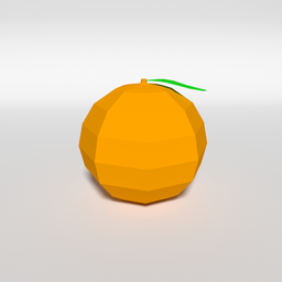 Thumbnail: Low Poly Orange