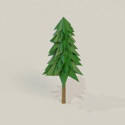 Thumbnail: Low poly tree 2