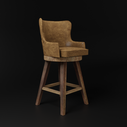Thumbnail: Chair Wadley Leather
