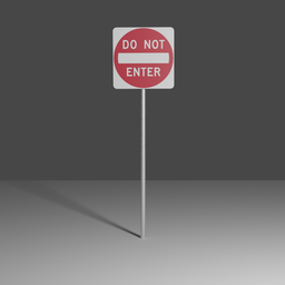 Thumbnail: Do not enter sign