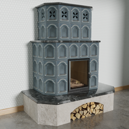 Thumbnail: A tiled stove for the cold days