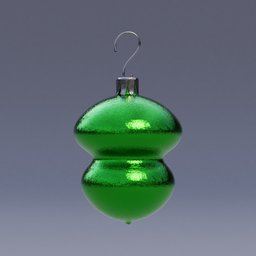 Thumbnail: Christmas ball gourd shaped
