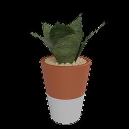 Thumbnail: Ceramic vase selvva