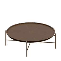 Thumbnail: Center table wood and copper