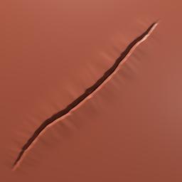 Thumbnail: jittery cut or tear