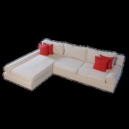 Thumbnail: Sofa L shape 03