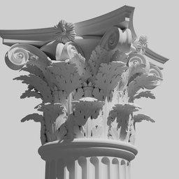 Thumbnail: Corinthian order - Column